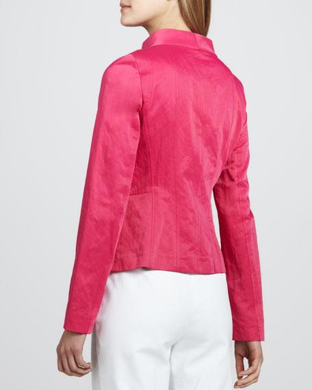 Crinkled Tech Jacket