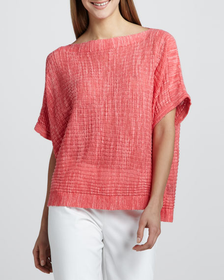 Ribbed Lightweight Top