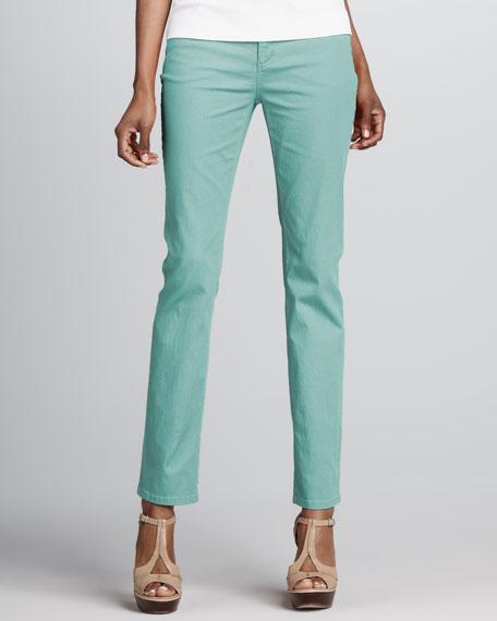 Curvy Slim Jeans, Bubble