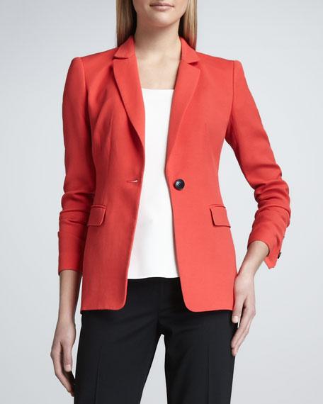 Nouveau Cloth One-Button Jacket