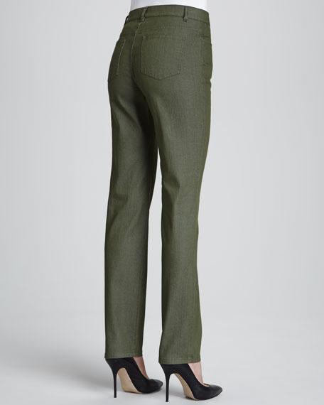 Bella Denim Curvy Slim-Leg Jeans, Surplus