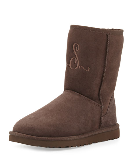 Monogrammed Classic Short Boot