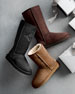 Image 2 of 3: Classic Tall Boot, Chocolate