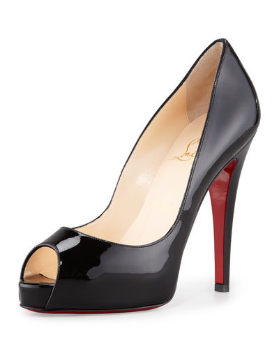 Christian Louboutin Very Prive Patent Pump