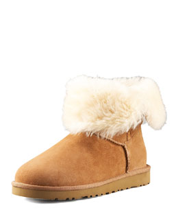 UGG Australia Bailey Button Short Boot, Chestnut