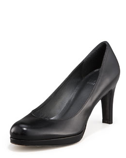 St. John Collection Platform Round-Toe Pump