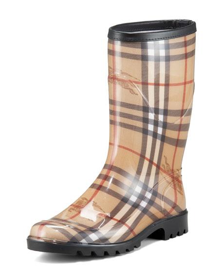Mid-Calf Rain Boot