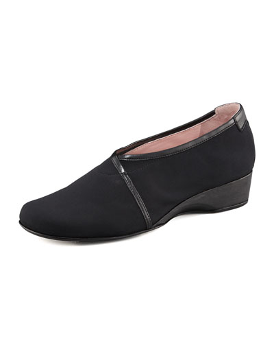 Taryn Rose Envelope Wedge Loafer