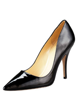 kate spade new york licorice pointed-toe pump