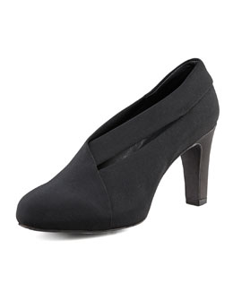 Eileen Fisher Peek Stretch Grosgrain Bootie