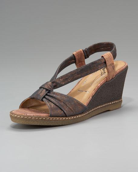 Donald J Pliner Shimmery Slingback Sandal