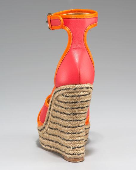 Crisscross Ankle-Wrap Espadrille