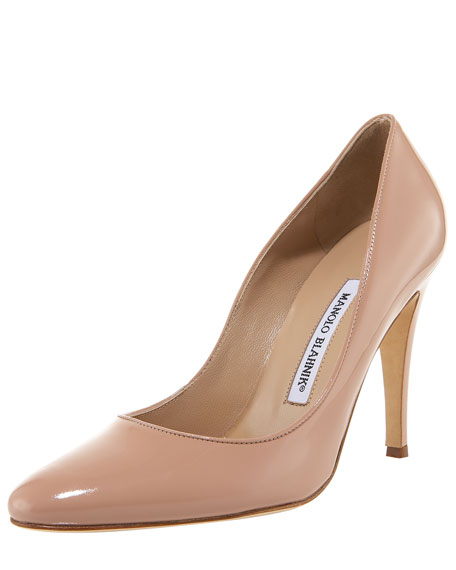 Tuccio Patent High-Heel Pump