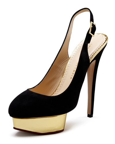 Mirror-Platform Pump, Black