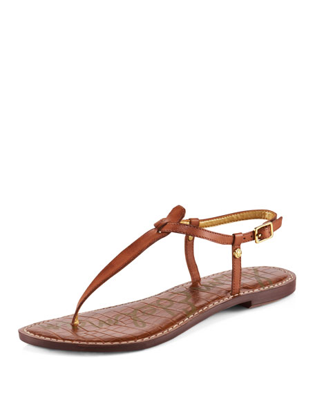 Gigi Leather Thong Sandal (CUSP Most Loved!)