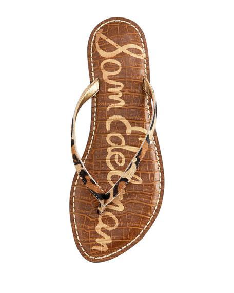 Gracie Flat Thong Sandal