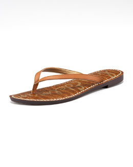 Sam Edelman Gracie Leather Thong Sandal