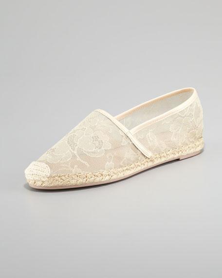 Flat Lace Espadrille