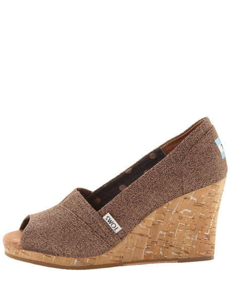 Waverly Boucle Wedge