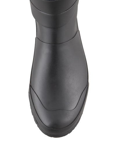 Burberry Motorcycle Rain Boot
