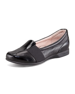 Taryn Rose Taurus Gored Slip-On Loafer