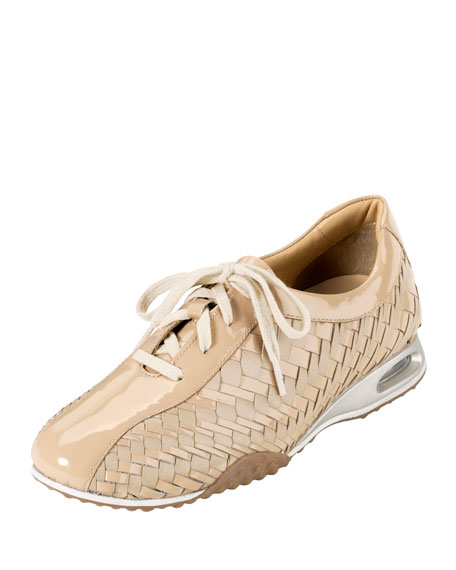 Air Bria Geni Woven Oxford, Patent Leather