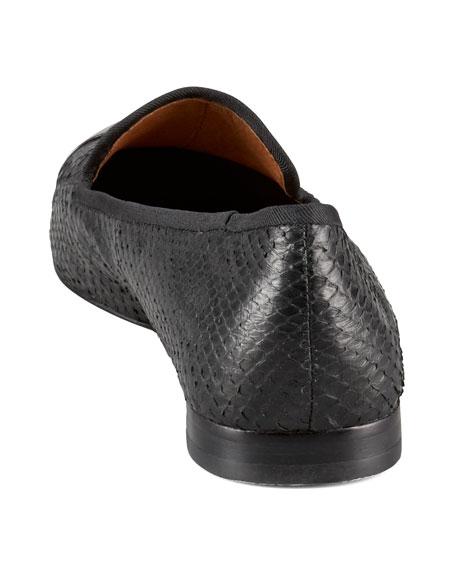 Aster Cap-Toe Smoking Loafer