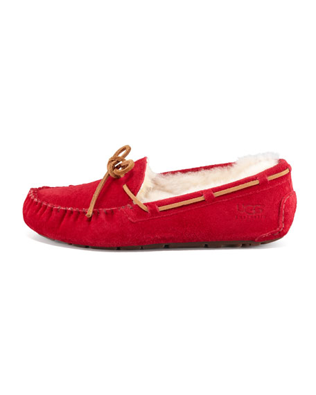 Dakota Wool-Lined Tie-Slipper