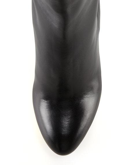 Lucinda Golden Platform Ankle Boot