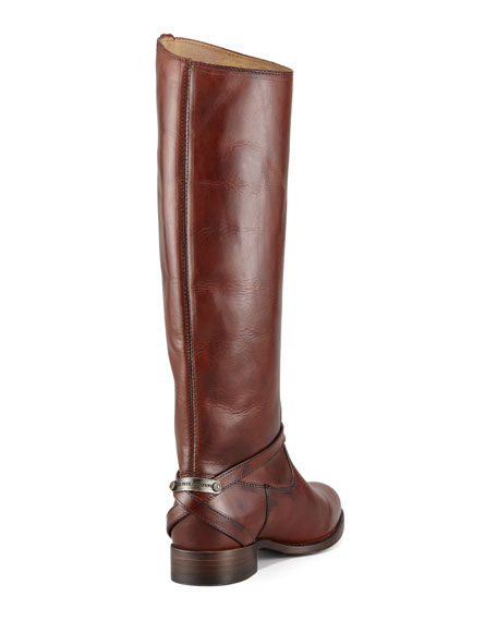 Lindsay Leather Plate Boot