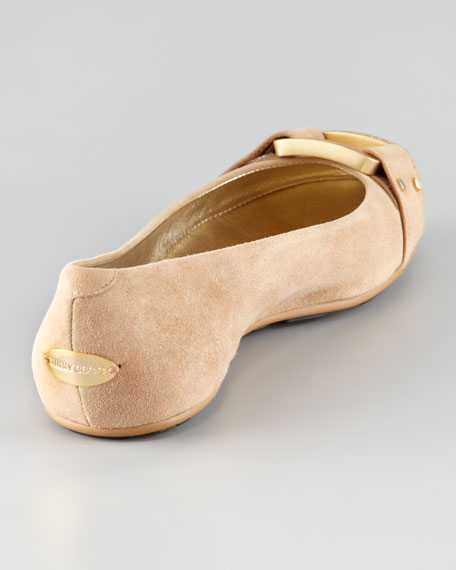Morse Suede Ballerina Flat