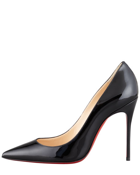 Decollete Patent Leather Stiletto Red Sole Pump