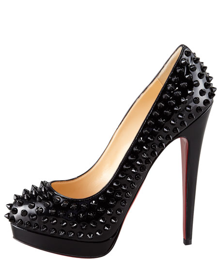 Alti Spike Red Sole Pump