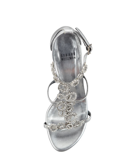 Brillag Jewel-Front Evening Sandal