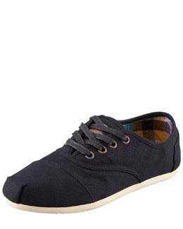 TOMS Basic Cordones Oxford, Black