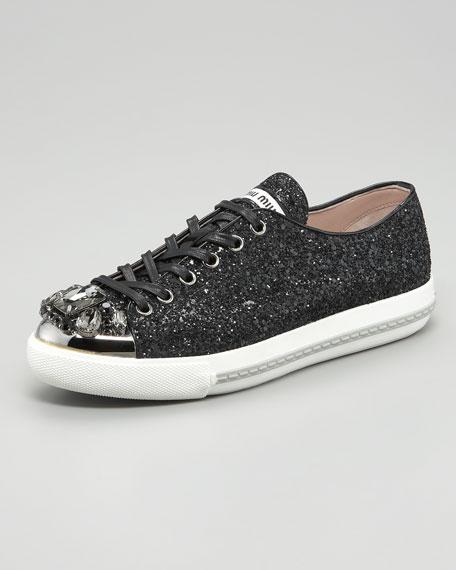 Bejeweled Glitter Sneaker