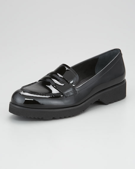 f0bef68222d Prada Patent Leather Penny Loafer