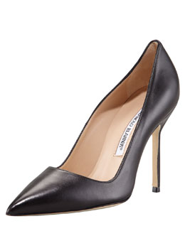 MANOLO BLAHNIK BB Pointed Toe Pump, Black