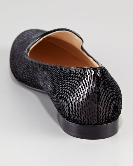 Paillette Smoking Slipper