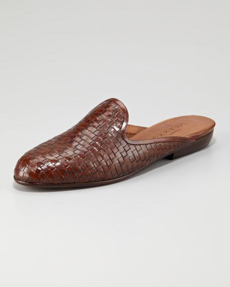 Naida Woven Leather Mule
