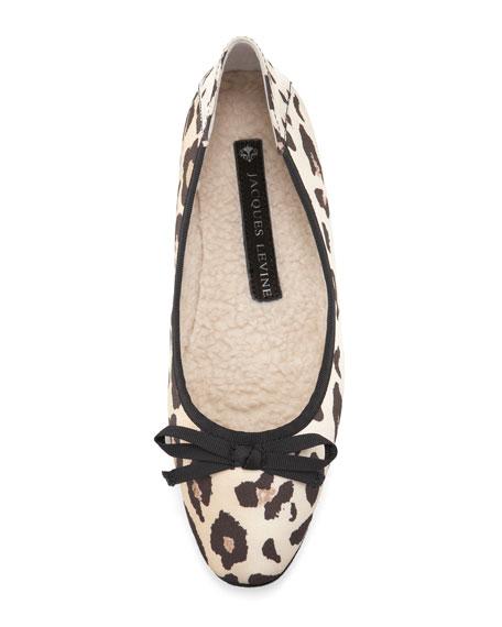 Inslee Ballerina Flat, Leopard
