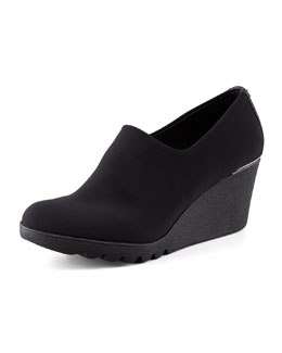 Donald J Pliner Maddy Crepe Wedge Slip-On
