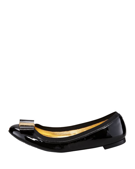 tock stretch-trim ballerina flat
