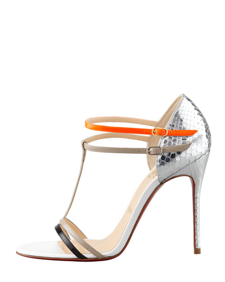 Arnold Python T-Strap Sandal