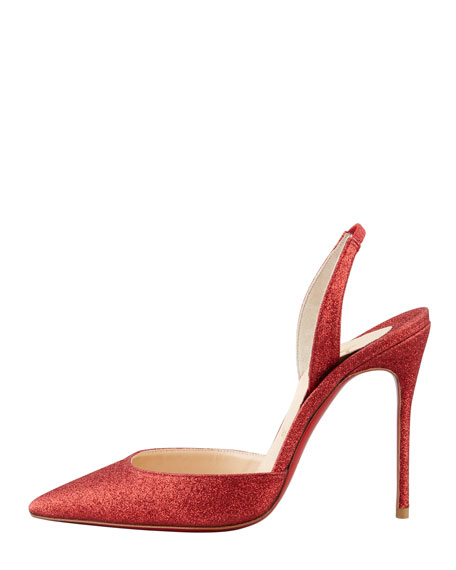 christian louboutin ottaka suede fringe open-toe red sole bootie