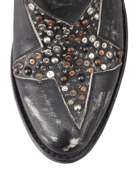 6e2a3fd48cdd Frye Deborah Star-Studded Ankle Boot