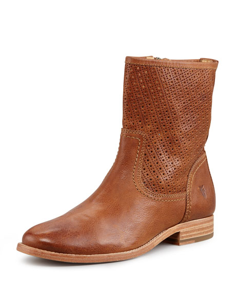 Melissa Perforated Bootie