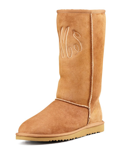UGG Australia Monogrammed Classic Tall Boot