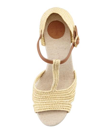 Carina Macrame Wedge Sandal