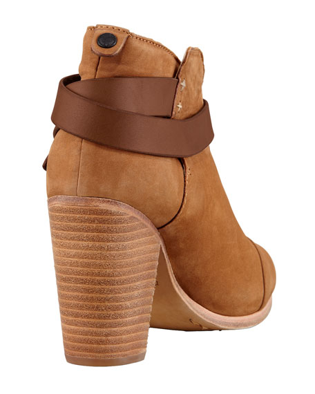 Harrow Nubuck Ankle Boot, Camel